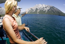 Banff Lake Cruise / Come and explore the largest lake in Banff National Park.  / by Explore Rockies