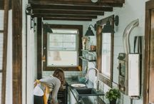 Tiny House Ideas / Ideas for living in 500 square feet or less!