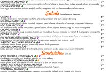 Restaurants of note