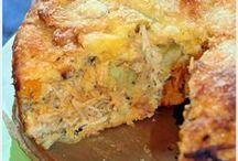 torta frango sem farinha