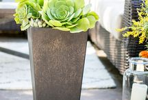Outdoor Decor / Outdoor décor and patio furniture provides the finishing touches to your outdoor living space. Here are some of our favorites!