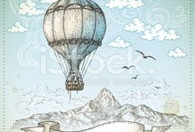 Vintage air balloon