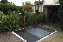 DIY Training Rack