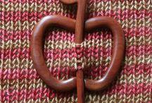 fimo shawl pins