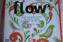 Flow Magazine / Flow is een tijdschrift over dingen anders doen en nieuwe keuzes maken. Klein geluk, dagelijks leven en het mooie van niet altijd perfect hoeven zijn. Een tijdschirft zonder haast. Over klein geluk, andere keuzes en simpeler leven.