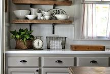 Kitchen / -Farmhouse  -French -Vintage