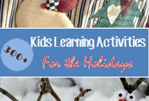 Holiday Fun / Ideas to keep the kiddies occupied!