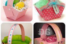 Box/basket / Paper craft