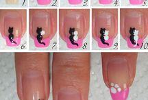 nails/hair/make-up