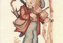 Hummel hegedűs fiú