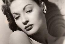Yvonne De Carlo - Actress / by John Myers Art
