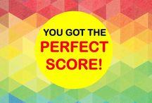 perfect score yay
