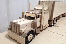 Wood trucks