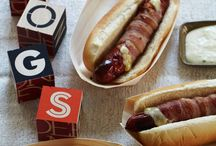 Dogs, brats, sausages,,,, things  of that sort / by Patricia Langford