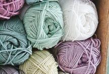 Crochet color palette