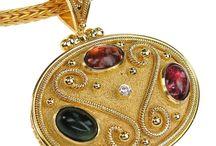 Pendants and Charms / Handmade Greek Jewelry at Athena's Treasures: http://www.athenas-treasures.com/