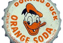 Vintage Orange Soda / A collection of old style graphics for orange soda.