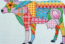 borduren patchwork en modern