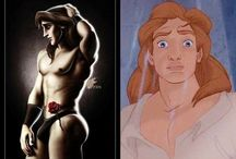 Fairtytale Princes / Any kind of artwork, pictures or drawings of Disney Princesses