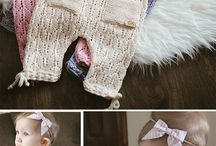 Knitting to children