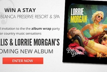 Win a Stay at Garza Blanca Preserve Resort & Spa / Win a Stay at Garza Blanca Preserve Resort & Spa with a special invitation to the album wrap party for the country sensations PAM TILLIS & LORRIE MORGAN'S upcoming New Album ENTER NOW ► http://goo.gl/UD4dQ