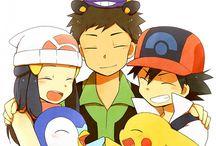 Brock, Ash & Dawn! (Pokémon) ❤