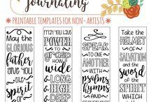 Planner Bible journaling