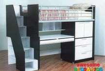 Space Saver Beds / Awesome Beds 4 Kids range of space saver beds, bunks. Great for small bedrooms