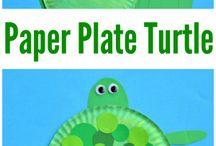 żółw z talerzyka