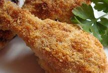 Crispy herbed baked chicken