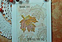 Stampin up Karten Herbst