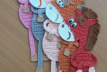 Crochet animals &Stuffed stuff / by Gina Hall