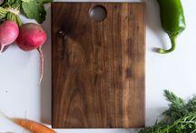Walnut trays