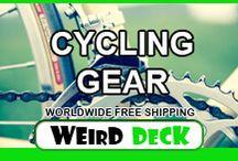 Cycling Gear / Cycling Equipment, Bicycle maintenance tools, Cycling Jersey, Cycling Bag, Cycling Glove, Cycling Helmet, Cycling Phone Case, Cycling Water Bottle, Cycling Sunglasses.