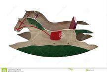 handmade wooden rocking horse 2015-2016