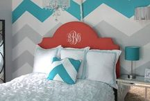 Elephants on the Wall / DIY Paint by Number Wall Murals--love these!