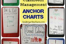 Classroom management & anchor charts