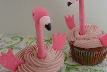 flamingo and pelican