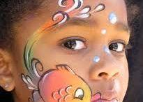 Pintar caras y cuerpo