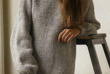 вязание, платья