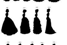 Šaty a historie
