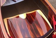 Wooden kayak seat