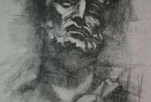 my charcoal work