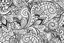 - Doodles & Zentangles -