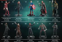 Super héros des films Marvel eaglemoss check-list