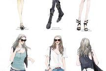kartun fashion