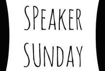 Speaker Sunday / Share your youtube speaking clips, a speaker's page, a radio broadcast, a podcast, or any other resources that will inspire and equip your fellow Christian speakers. If you are on Instagram or twitter, participate with the #CWASpeaks