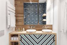 Bathroom design and tiles