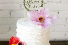 Whimsical White Cakes