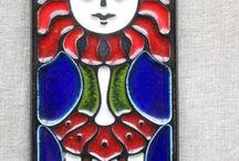 Konrad Galaaen Porsgrunn porselen / Norwegian fantastisk ceramic from Porsgrunn porselen fabrik and Konrad Galaaen